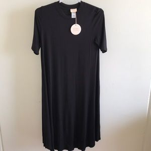 Black swing dress NWT